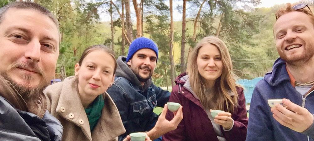 Чайное действо в Голосеевском парке на выходных