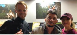 Выездная чайная церемония на открытии Kyiv Vegan Boom