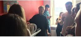 Выездная чайная церемония в Киеве для OMD Worldwide