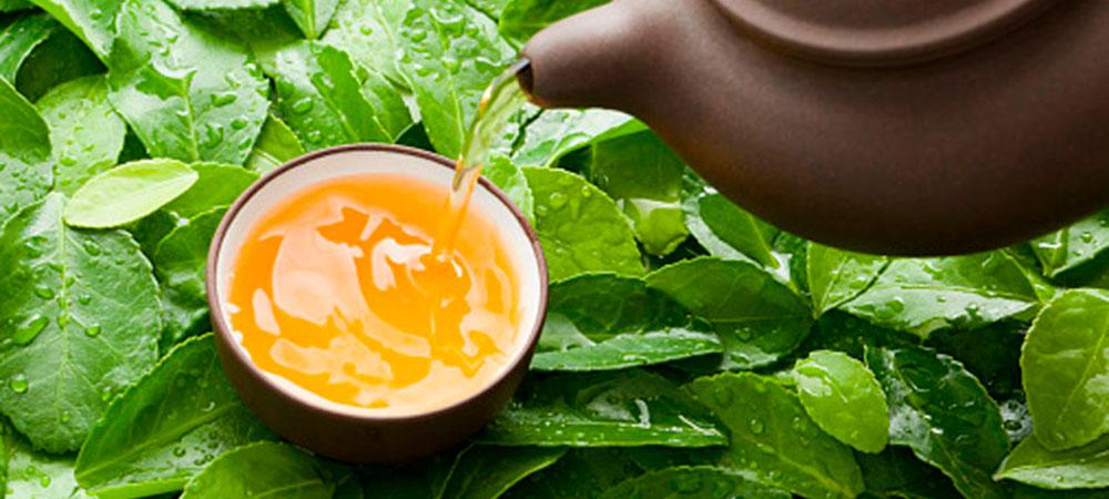 Холодный зеленый чай летом - спасение от жары