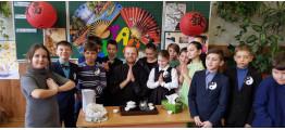 Виїзна чайна церемонія в київській школі