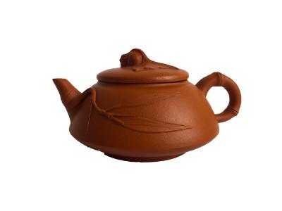 """Чайник """"Карп удачи """" исинская глина"""