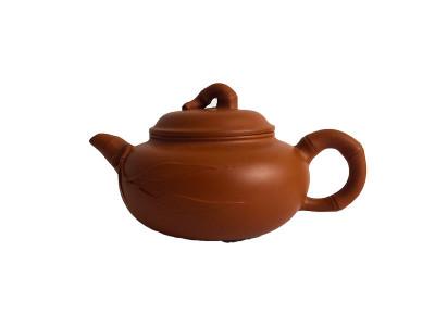 """Чайник """"Ветка сливы"""" исинская глина"""